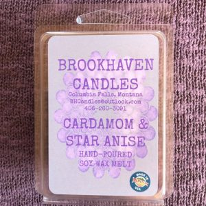 Cardamom and Star Anise Scented Soy Wax Melt