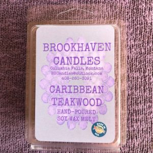 Caribbean Teakwood Scented Soy Wax Melt