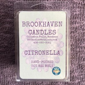 Citronella Scented Soy Wax Melt