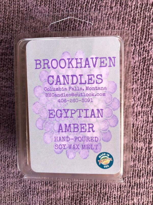 Egyptian Amber Scented Soy Wax Melt