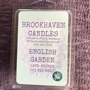 English Garden Scented Soy Wax Melt