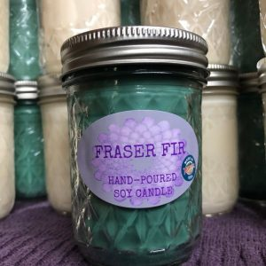 Fraser Fir Scented Soy Candle