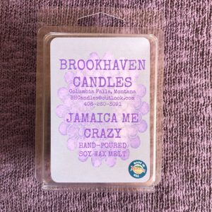 Jamaica Me Crazy Scented Soy Wax Melt