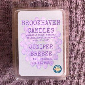 Juniper Breeze Scented Soy Candle Wax Melt