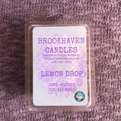 Lemon Drop Scented Soy Wax Melt