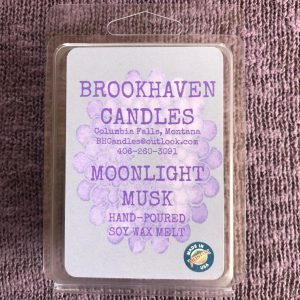 Moonlight Musk Scented Soy Wax Melt