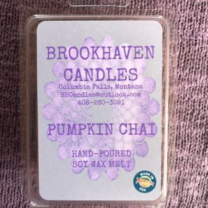 Pumpkin Chai Scented Soy Wax Melt