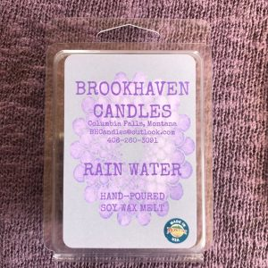 Rain Water Scented Soy Wax Melt