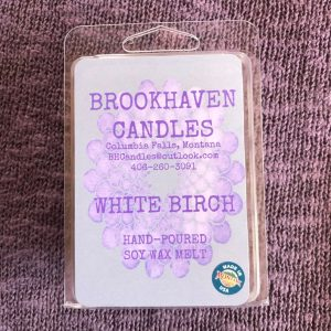 White Birch Scented Soy Wax Melt