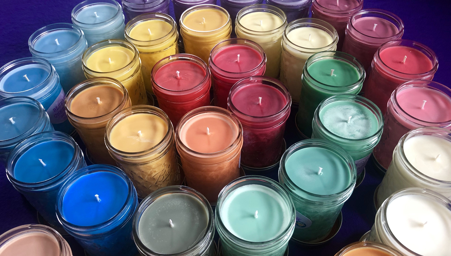 Scented Soy Candle Variety