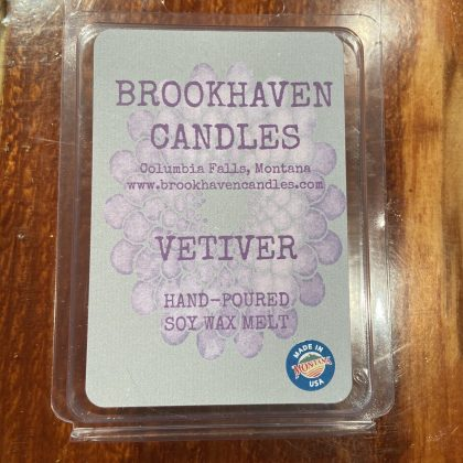Vetiver Scented Soy Wax Melt